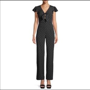 love, Fire Polka Dot Jumpsuit, Size L